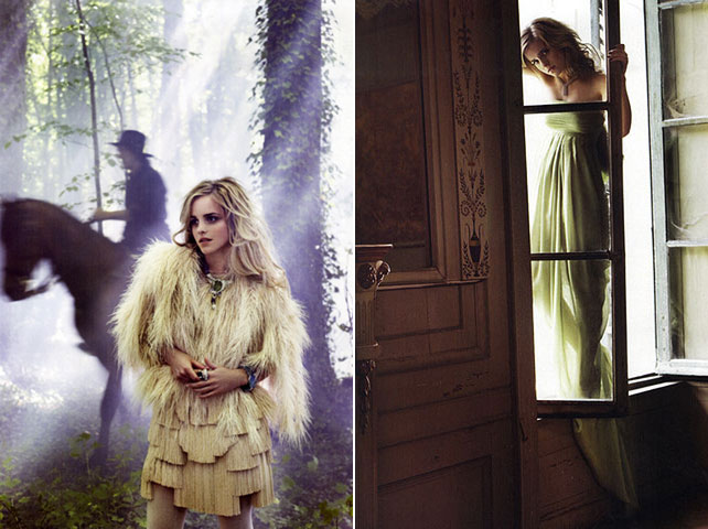 Emma Watson in Vogue Italia October 2008 pictures