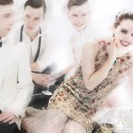 Emma Watson Vogue July 2011 photo with young men