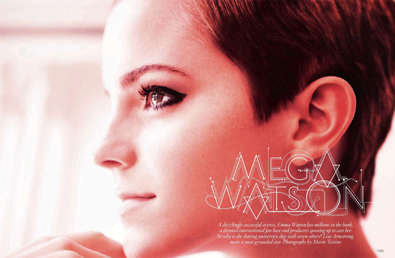 Emma Watson Vogue UK December 2010 3