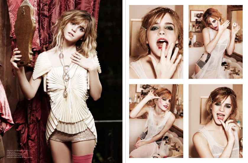Emma Watson VS Magazine Ellen Von Unwerth photos 2