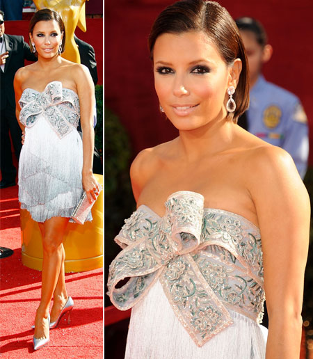 Emmy Awards 2008 Eva Longoria Marchesa dress