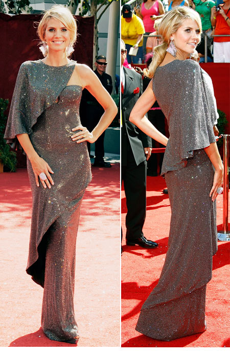 Emmy Awards 2008 Heidi Klum Armani Prive dress