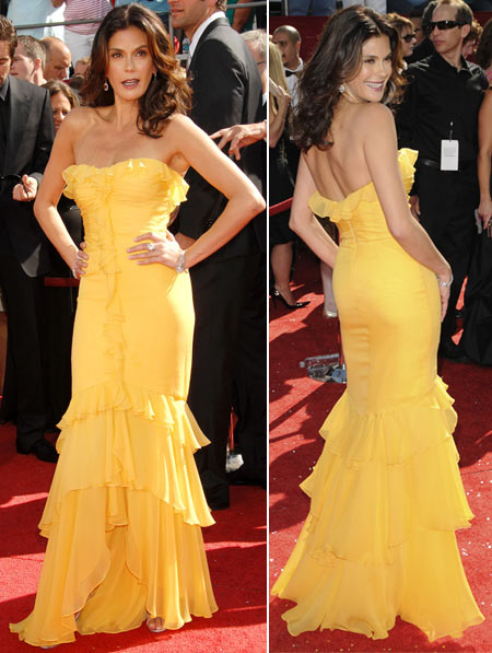 Emmy Awards 2008 Teri Hatcher Monique Lhuillier dress