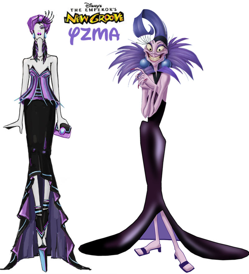 Yzma fashion update Emperor s new Groove Disney Villain