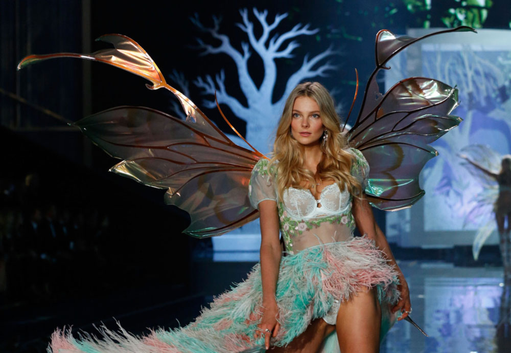Eniko Mihalik Victoria s Secret 2014 wings
