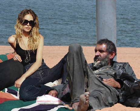 Erin Wasson On Homeless Chic Reloaded