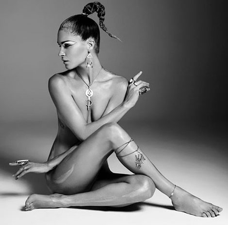 Erin Wasson Low Luv Jewelry collection campaign