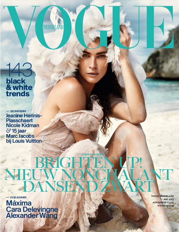Erin Wasson First Non-Dutch Model On Vogue Netherland Cover