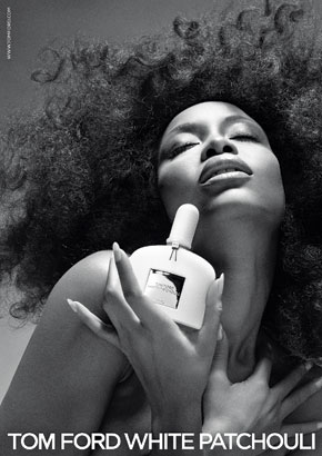 Erykah Badu For Tom Ford White Patchouli Advertising