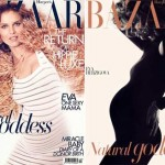 Eva Herzigova Harper s Bazaar April 2011 covers