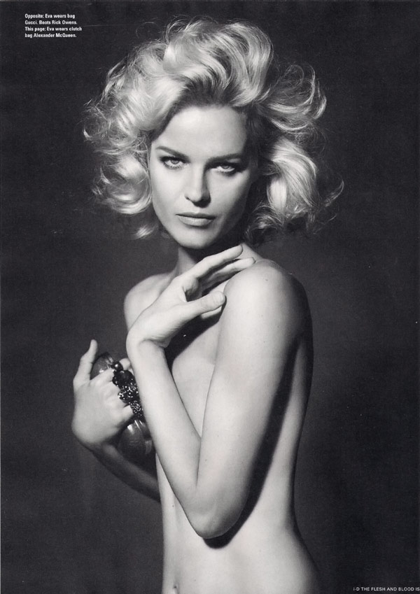 Eva Herzigova iD Magazine Winter 2009 2