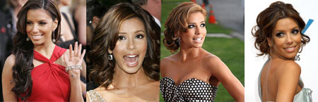 Eva Longoria With Makeup