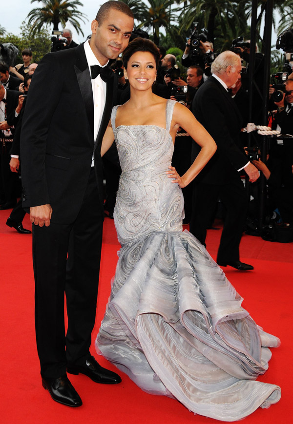 Eva Longoria Parker Versace dress Cannes 2009