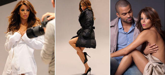 Eva Longoria Tony Parker London Fog 1