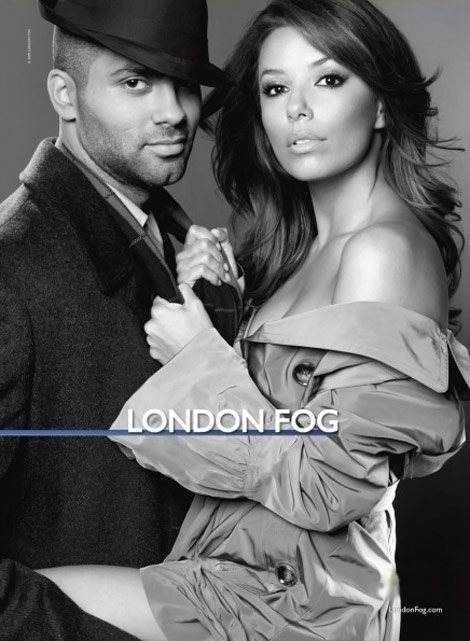 Eva Longoria Tony Parker London Fog Ad