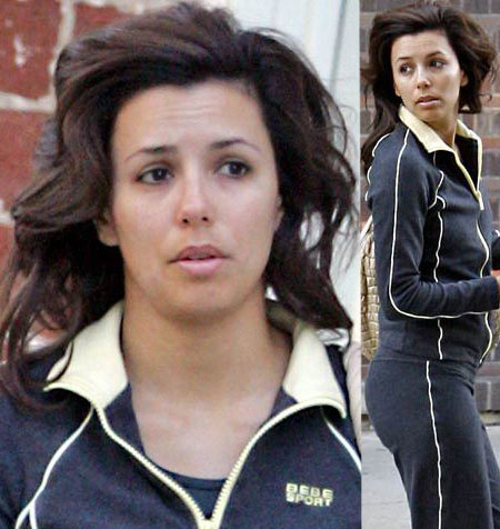 Eva Longoria Without Makeup. Makeup quite does it all, so we still have