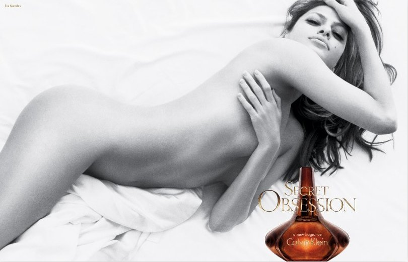 Eva Mendes Secret Obsession By Calvin Klein