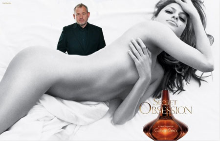 Eva Mendes Secret Obsession Fabien Baron