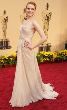 Evan Rachel Wood Elie Saab white
