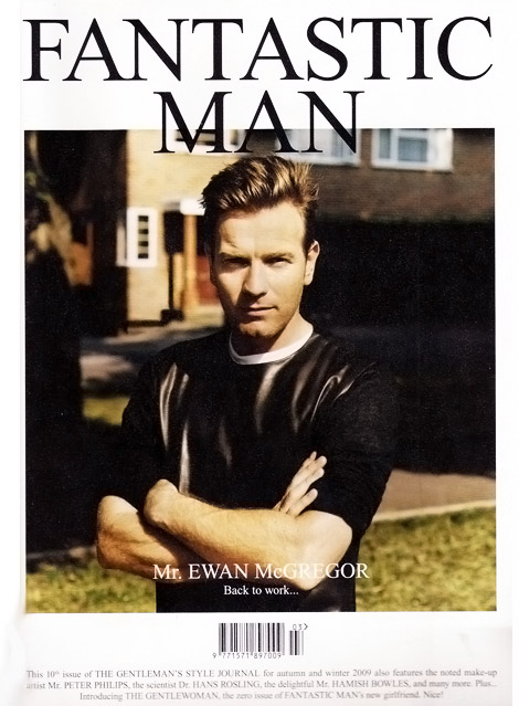 Ewan McGregor Fantastic Man Magazine cover