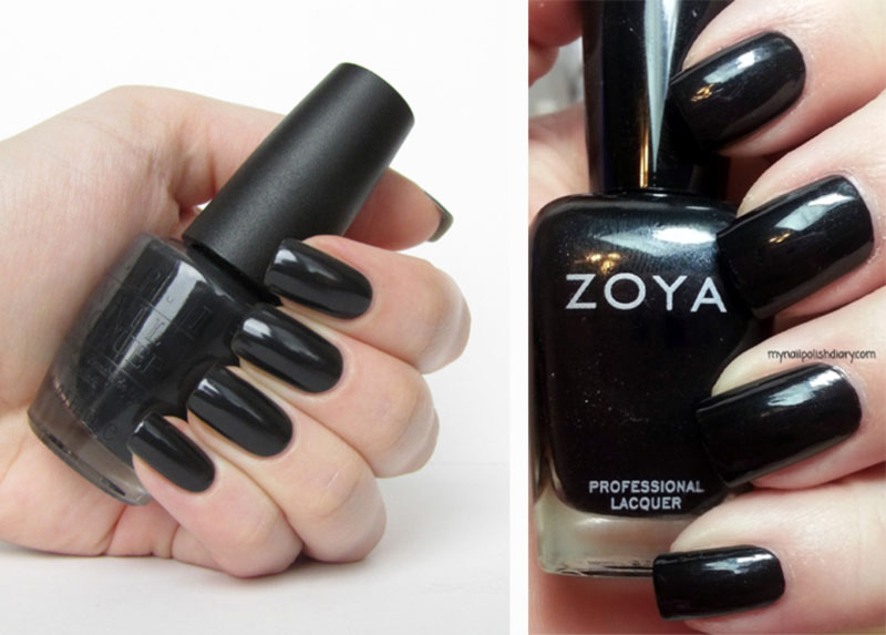 examples of black nails