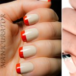 examples of colored tips french nails