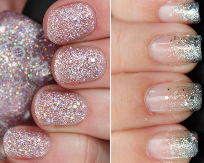 examples of silver glitter nail polish - StyleFrizz | Photo Gallery