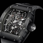 exquisite watch Richard Mille RM022 carbon tourbillon dual time