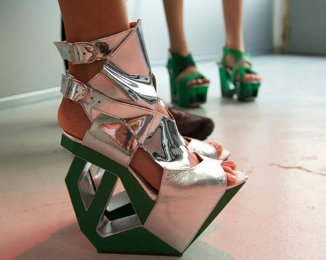extreme shoes Heineken heels