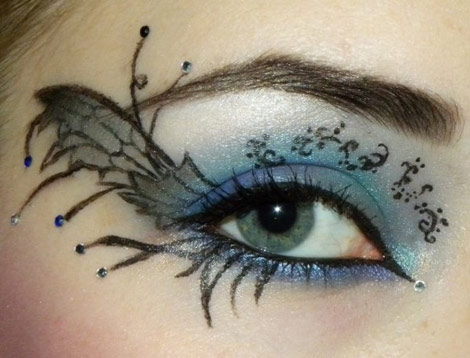 Fairy eyes makeup