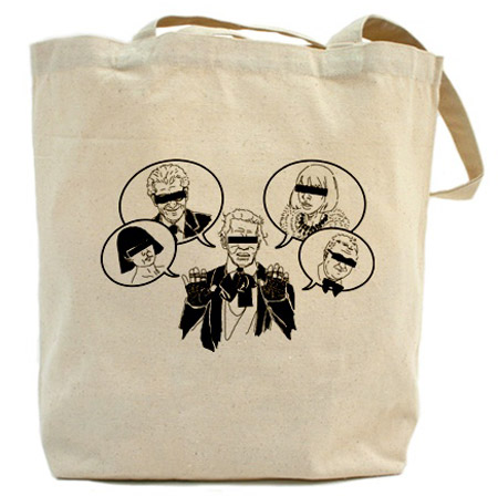Fake Karl The Church of Karl Lagerfeld tote Karl and others
