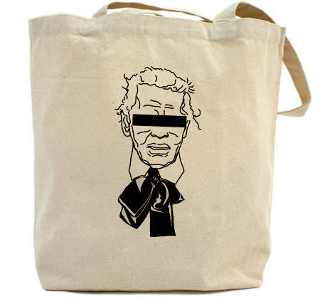 Fake Karl The Church of Karl Lagerfeld tote Karl