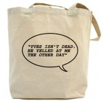 Fake Karl The Church of Karl Lagerfeld tote Yves