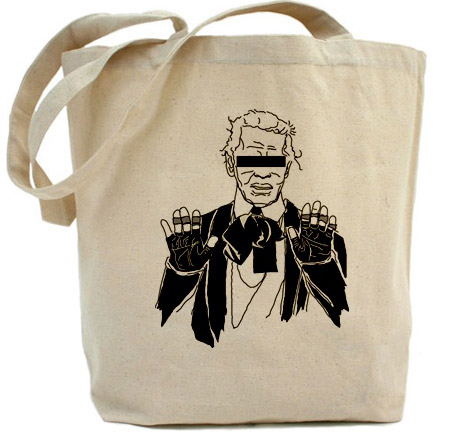 Fake Karl The Church of Karl Lagerfeld tote