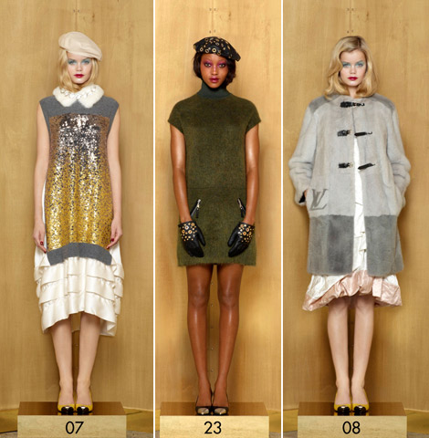 fall 2012 trends Louis Vuitton pre fall 2012 collection