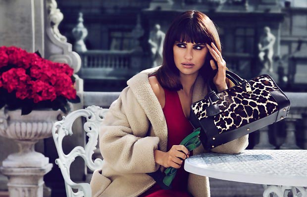 Penelope Cruz Designed For Loewe&Posed For The Fall 2013 Ad Campaign
