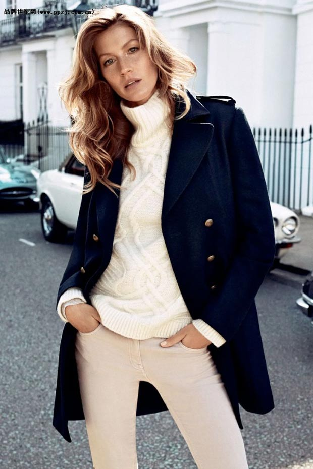 fall 2013 fashion Gisele Bundchen HM campaign
