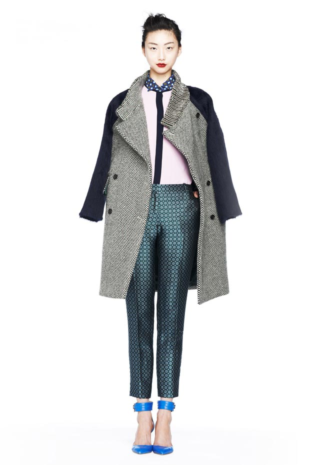 fall 2013 inspiration coat pants JCrew
