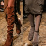 fall 2013 shoes trends boots shoes Donna Karan