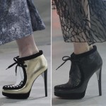 fall 2013 shoes trends laced up ankle boots Rodarte