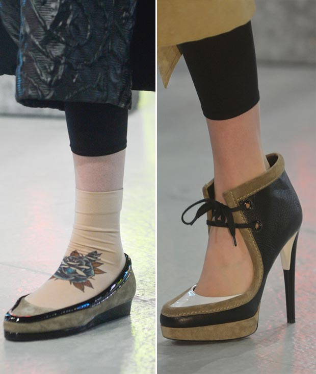 fall 2013 shoes trends Rodarte