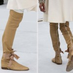 fall 2014 boots Chanel Haute Couture