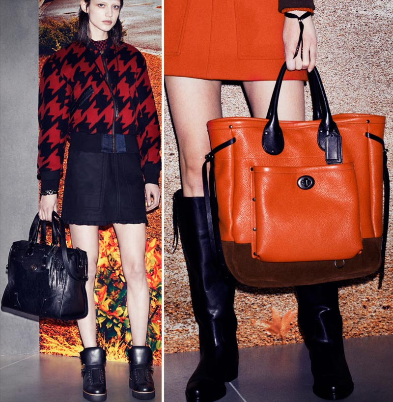 Fall 2014 shoes bags Coach handbags boots