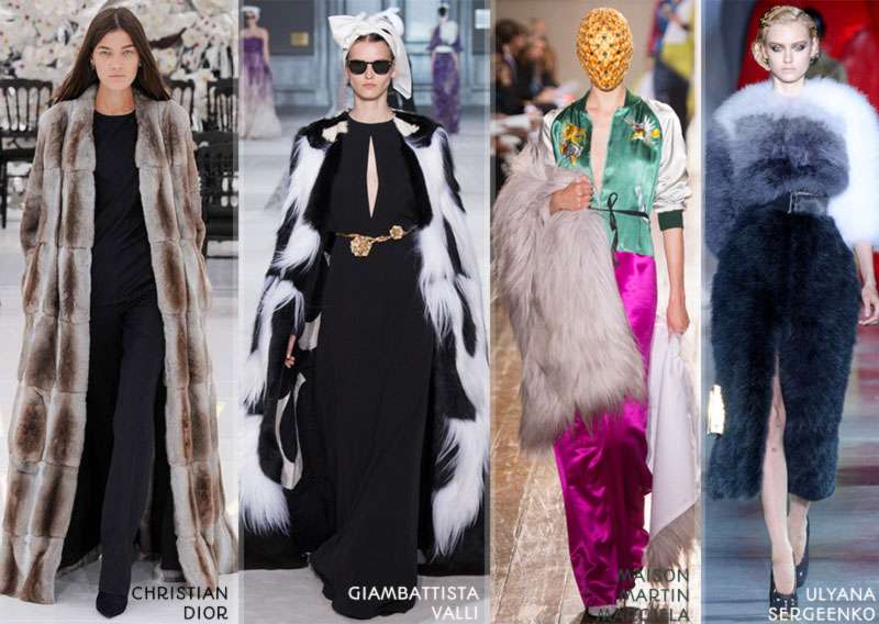 fall 2014 trends fur Couture Fall Winter 2014
