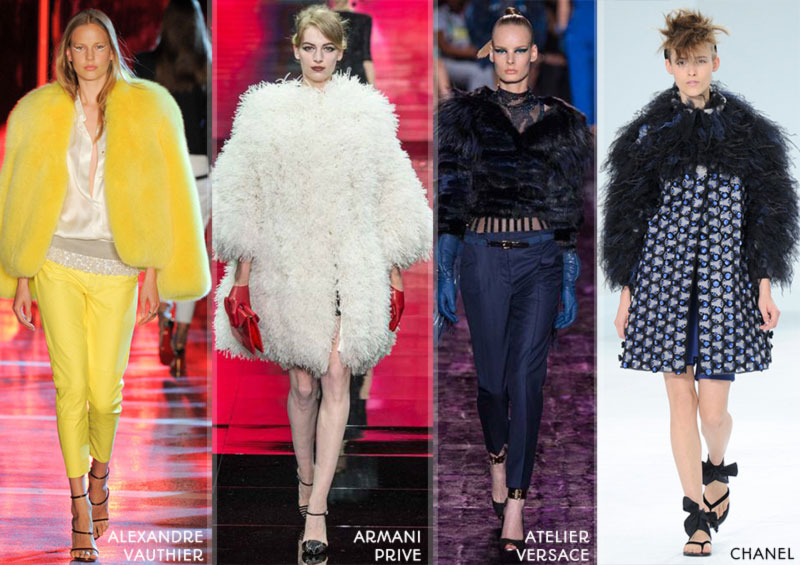 Fall 2014 trends fur Haute Couture collections