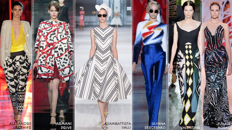 Fall 2014 trends graphic Couture Winter 2015