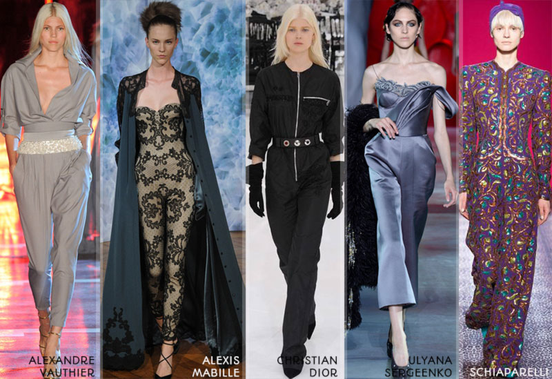 Fall 2014 trends onesies Couture Winter 2015