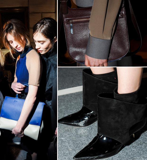 fall bags shoes trends Victoria Beckham Fall 2013