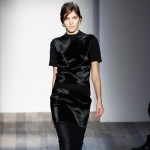 fall black dress Victoria Beckham Fall 2013 collection