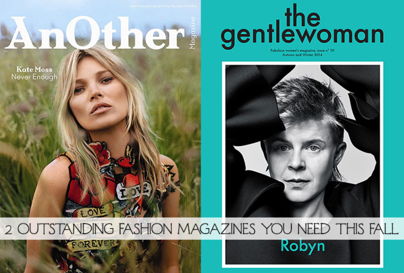 Fall Fashion Magazines you need